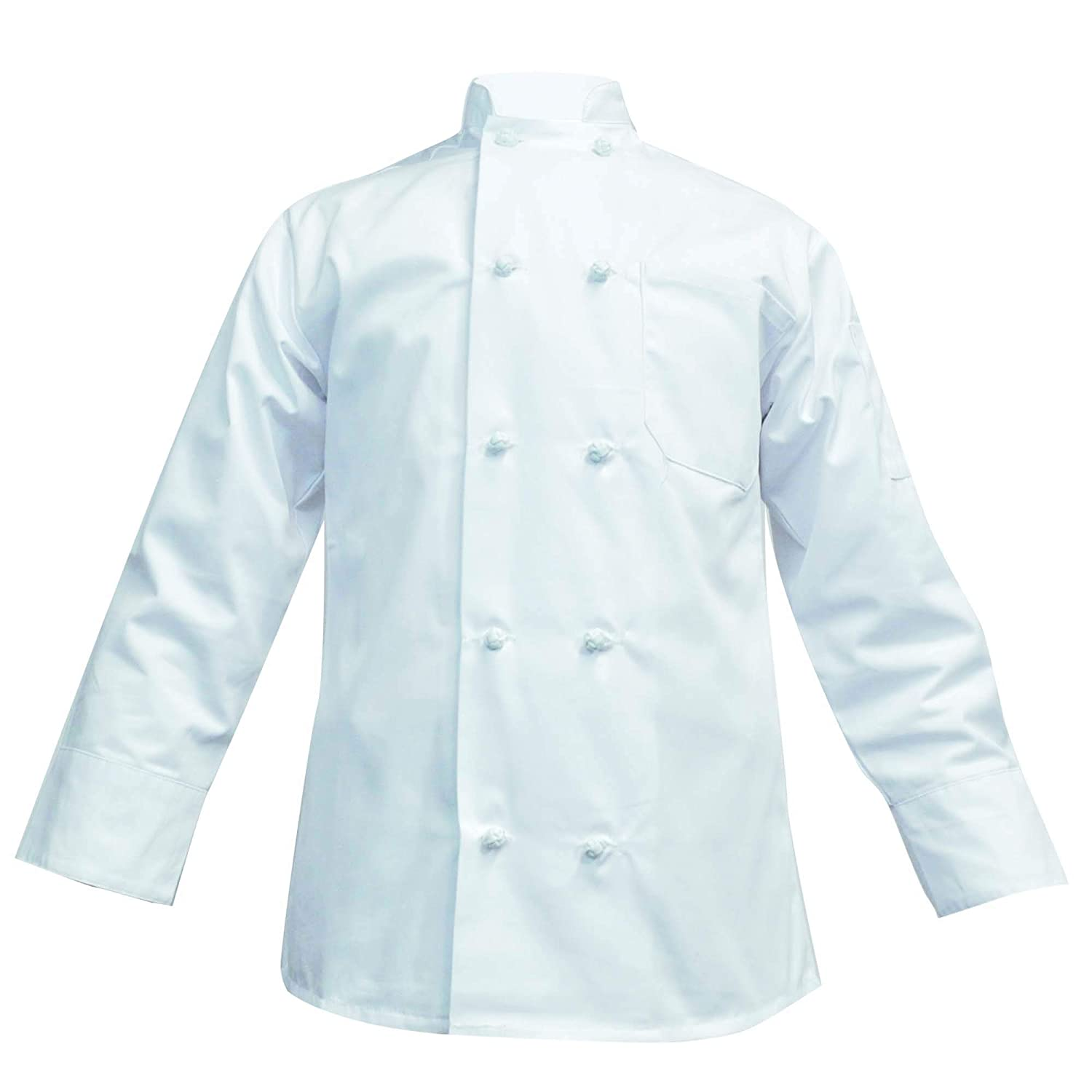 Stylish Unisex Chef Long Sleeve Coat- Easy-Care