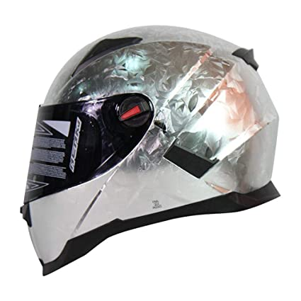 Lili Casco De Motocicleta Masculino Hembra Harley Casco De Cara Completa Medio Casco Material De Fibra
