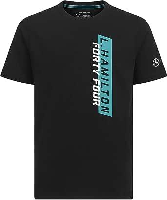 Mercedes AMG Petronas Motorsport Kids Lewis Hamilton #44 Black T-Shirt