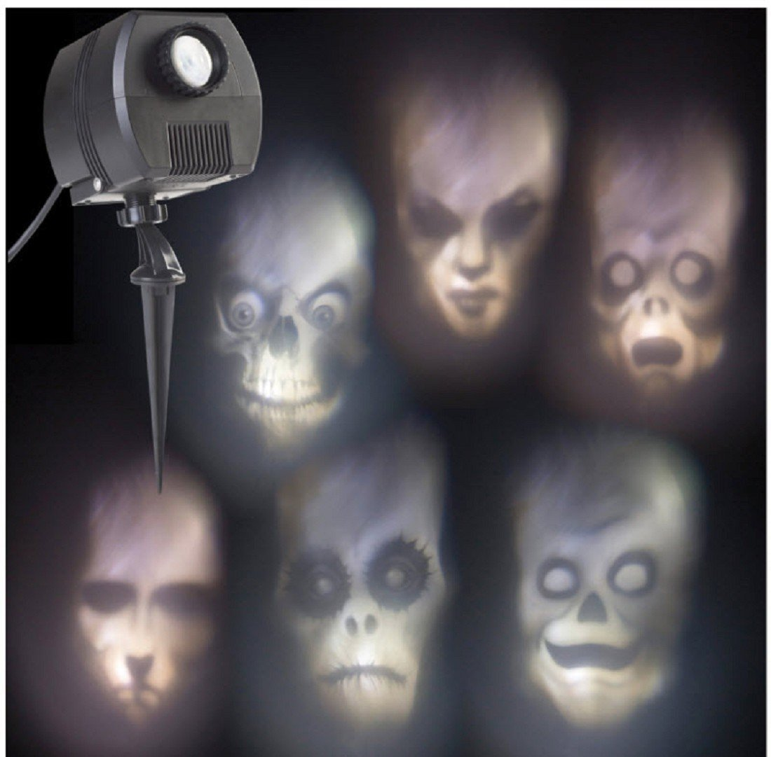 Halloween Outdoor Animated Skulls Projection Light by Gemmy Industries Hk
