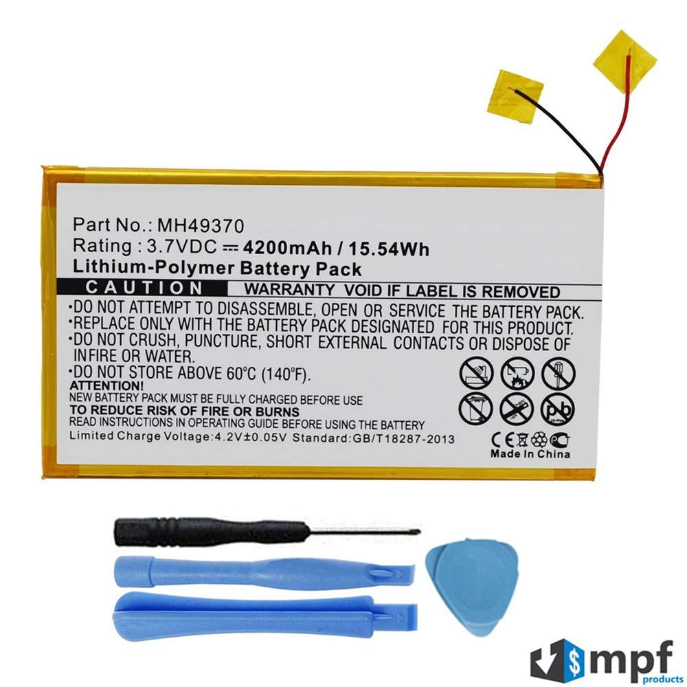 Bateria Tablet 4200mAh MH49370 para RCA 10-inch RCT6203W46 T