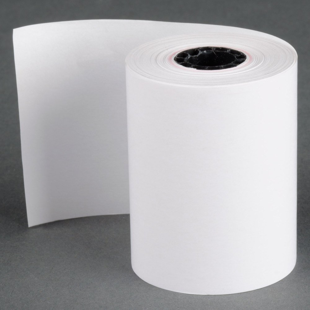 2-1/4'' X 85' (50 ROLLS) FD130 FD50 FD400 FD55 FD100Ti Thermal Paper Rolls BPA Free Made in USA