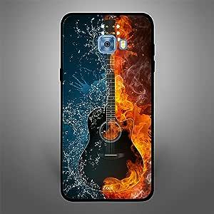 Samsung Galaxy C5 Fire Ice Guitar, Zoot Designer Phone Covers