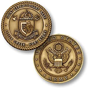 Joint Expeditionary Base Little Creek Fort Story - Army Challenge Coin