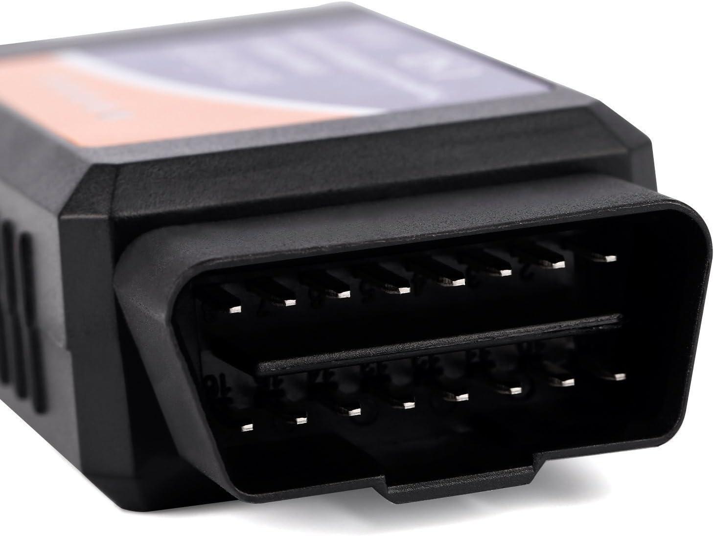 Mini OBD2/ELM327/Bluetooth und Wireless WiFi Schnittstelle f/ür Autos Engine Fault Scanner Tester Diagnose unterst/ützt iPhones Android Torque PC von trimmen Shop