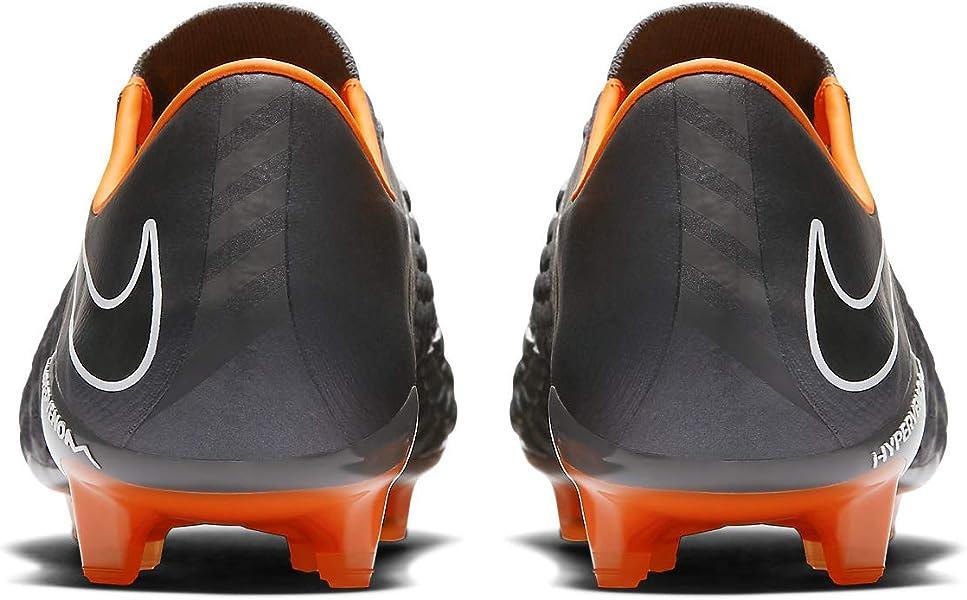 cba81cdb8d1 Nike Hypervenom Phantom III Elite FG AH7273-081 Grey Orange Men s Soccer  Cleats (. Back. Double-tap to zoom