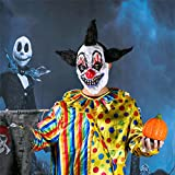Scary-Clown-Mask-Halloween-Party-Costume-Decorations-Creepy-Latex-Mask-black-Angle-mask