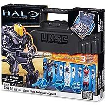Mega Bloks Halo Spartan Armor Action Figure Collector's Case II (Silver Case)