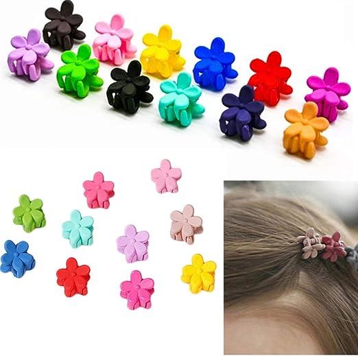 46df1cd58a7dd Amazon.com  30 PCS mini hair claw clips for girls