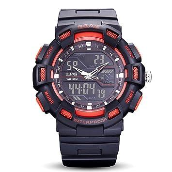 WENY Reloj de Pulsera para Hombre Reloj Inteligente Pulsera Reloj Militar Reloj Vestido Reloj Moda Reloj Deportivo Reloj Digital Alarma Calendario/Fecha/día ...