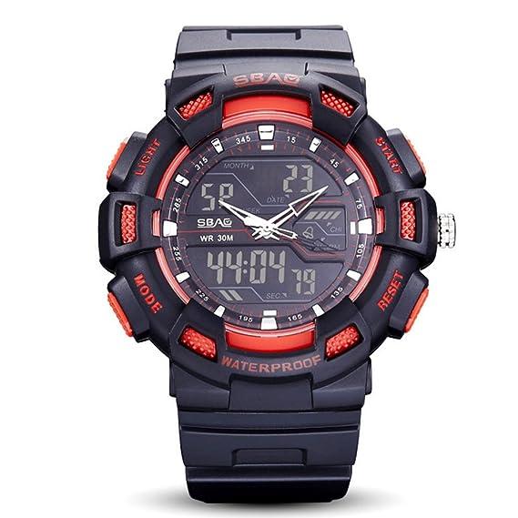 Reloj de Pulsera para Adolescentes Smart Watch Pulsera Reloj Militar Reloj de Moda Reloj Deportivo Reloj