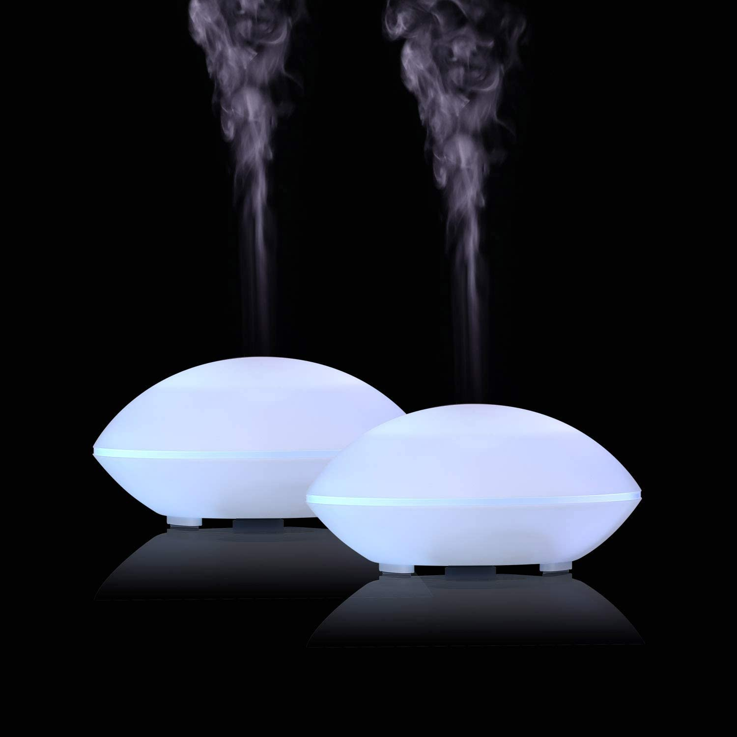 Details about  /Home Low Noise Ultrasonic Mini Air Humidifier 200ML Aroma Essential Oil Diffuser