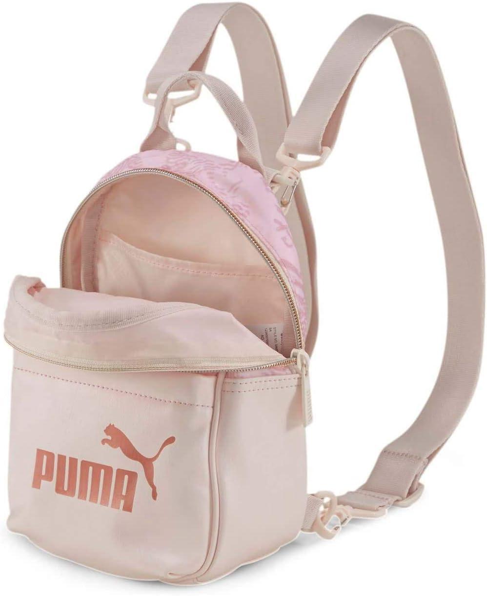 Dibujar implícito Ataque de nervios  PUMA Minime Backpack WMN Core Up Minime Backpack Rosewater: Amazon.es:  Zapatos y complementos