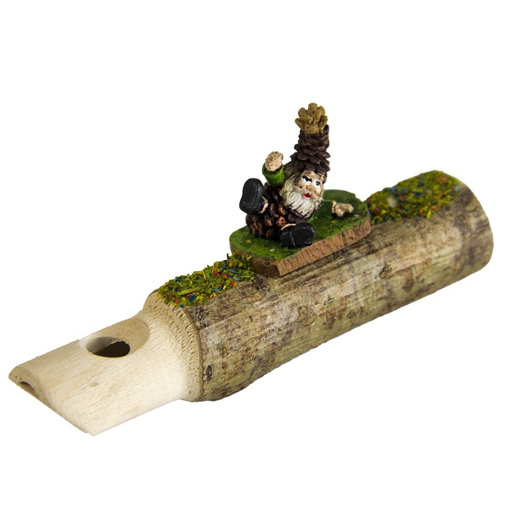 Hermle 0204 Black Forest Cuckoo Whistle with Gnome