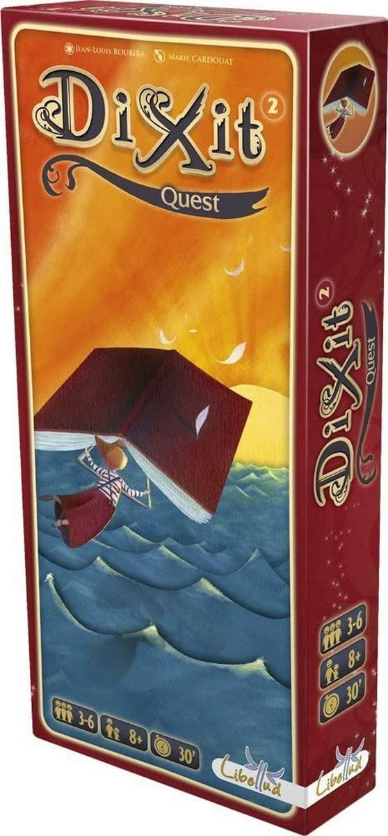 DIXIT Expansion - Todas las expansiones disponibles - Dixit Quest (Libellud DIX02ML4): Amazon.es: Juguetes y juegos