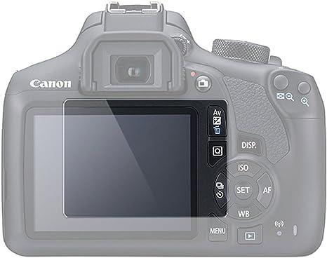 2 Unidades) Protector de Pantalla LCD para Canon EOS Rebel T5 T6 ...