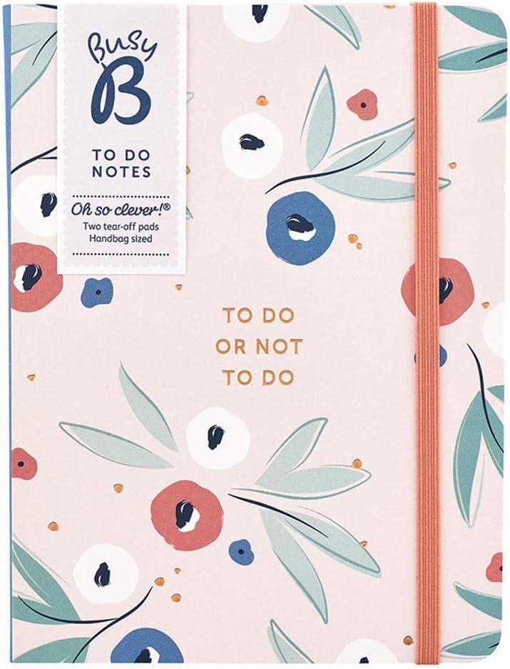 Oxford Essentials To Do List Lot de 5 Bloc-notes 140 pages 125 X 200 mm Couleurs Assorties