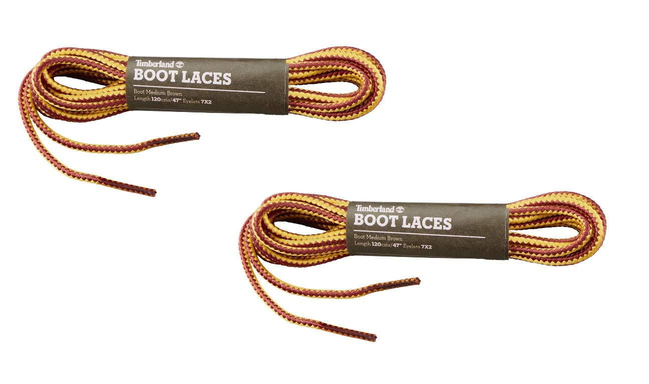 Timberland Brand Replacement Boot Shoe Laces 1/8 Cord 3mm (2 Pack) (47 120cm)