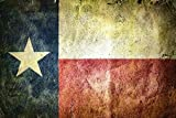 Wallmonkeys Flag of the State of Texas Peel and Stick Wall Decals WM106646 (18 in W x 12 in H)