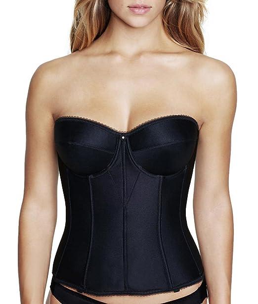 f223ea6e62f6b Dominique Longline Strapless Smooth Torsolette Bra  Amazon.ca  Clothing    Accessories