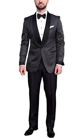 low price sale retro new selection Spazeup Best Dressed Grey Jacket and Black Pants 2 Piece ...