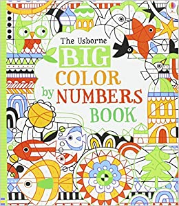 Big Color By Numbers Book Fiona Watt 9780794516062 Amazon Books