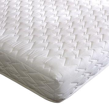 "Memory Foam Orthopeadic Reflex Mattress 6/"" All Foam Mattress No Springs"