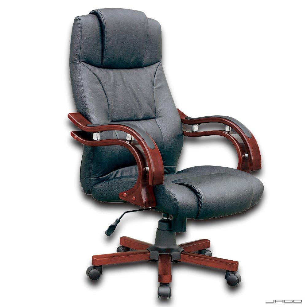 Leder Schreibtischstuhl schwarz leder bürosessel drehstuhl chefsessel bürostuhl stuhl