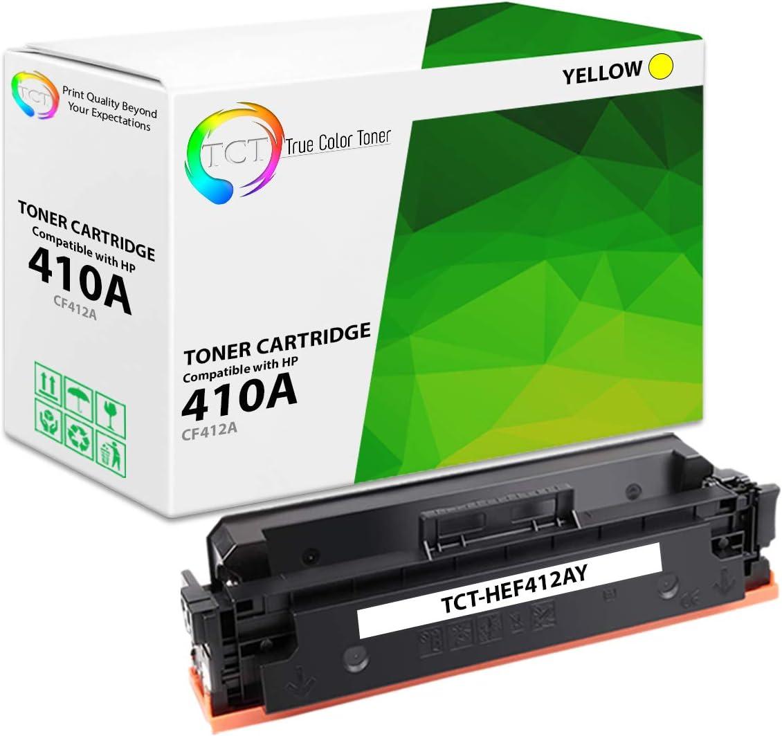 TCT Premium Compatible Toner Cartridge Replacement for HP 410A CF410A CF411A CF412A CF413A works with HP LaserJet Pro M452DN M452DW M452NW MFP M477FDN Printers 10 Pack Black, Cyan, Magenta, Yellow