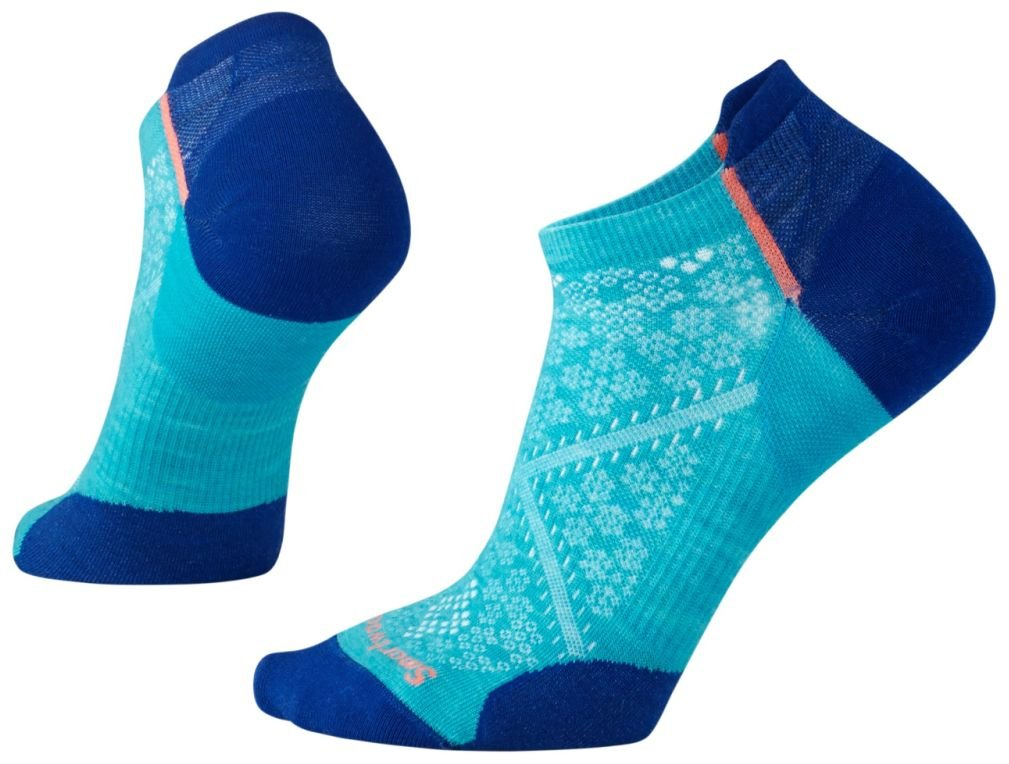 Smartwool Women's PhD Cycle Ultra Light Micro Socks (Capri) Small SW001110-810-S