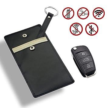 Bolsa RFID (identificación por radiofrecuencia) de bloqueo de señal electromagnética para proteger la privacidad