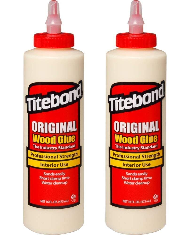 Titebond 5064 Original Wood Glue, 16-Ounces (Тwo Рack)