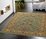 #8: Ottomanson Ottohome Persian Style Rug Oriental Area/Runner Rug with Non-SkidRubber Backing