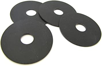 Neoprene Rubber Fender Washer Quantity of 1 3//8 Hole X 2-3//4 O.D