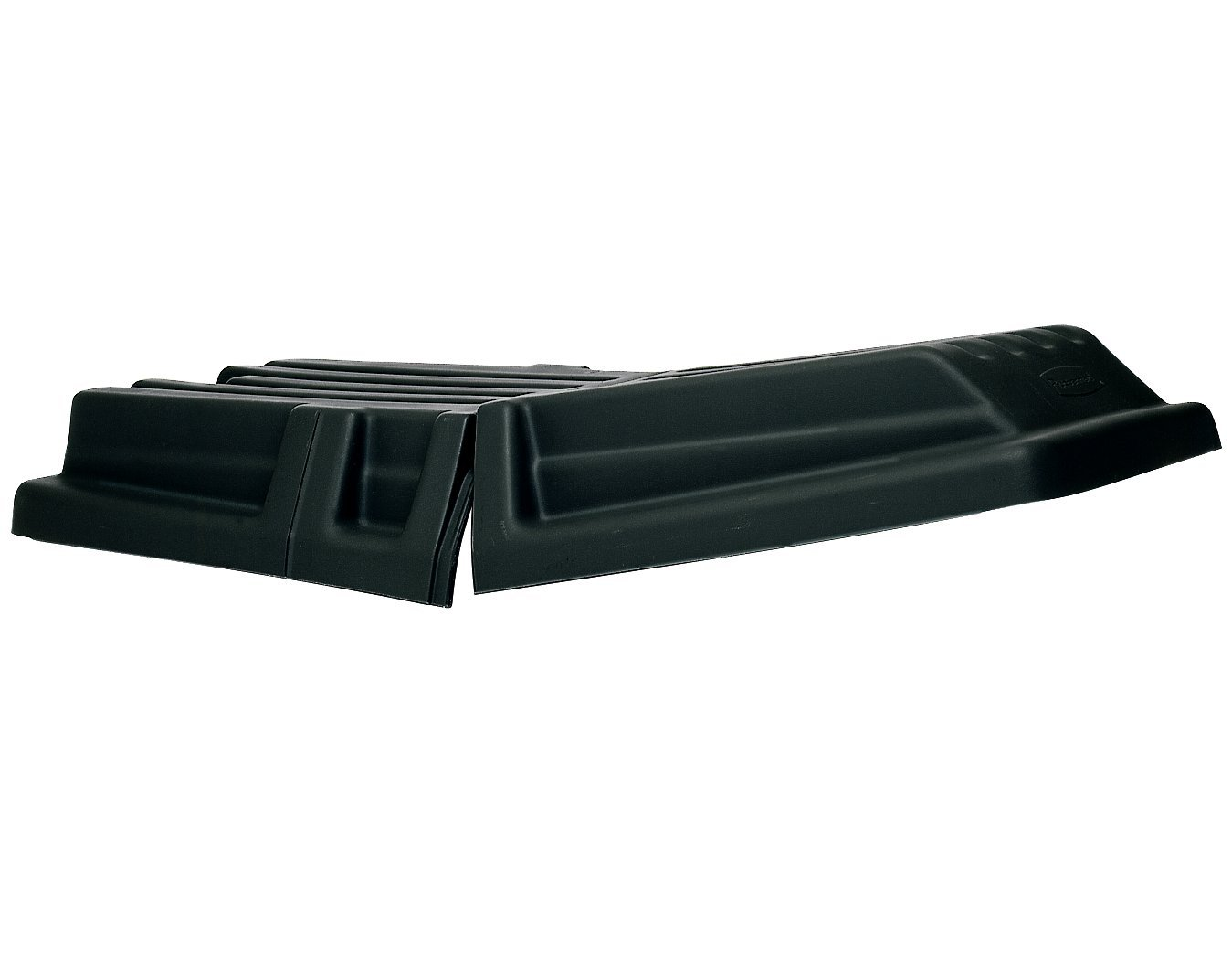 Rubbermaid Commercial Hinged Dome Lid for Cube Trucks and Heavy-Duty Utility Trucks