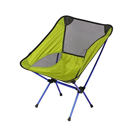 00772ffb143f Amazon.com : Folding Camping Chair - Collapsible Quad Chair with ...