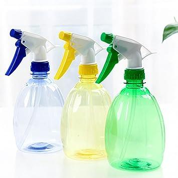 Baiyao 500 ML plástico Transparente gatillo vacío Botella de Agua atomizador Flor Planta: Amazon.es: Jardín