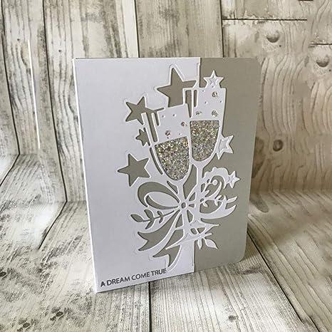 Stanzschablone Blume Set Weihnachten Neujahr Oster Hochzeit Karte Album Deko DIY