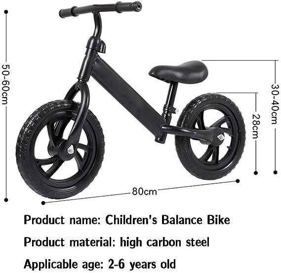 Bicicleta de Equilibrio de 12 Pulgadas, Adecuado for la formación ...
