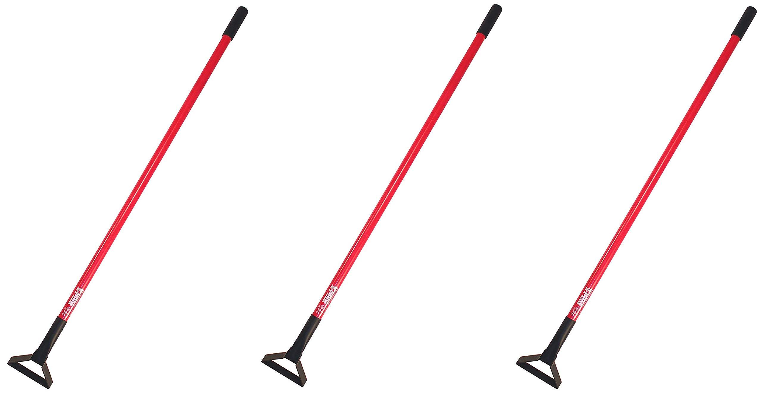 Bully Tools 92348 12-Gauge Loop Hoe with Fiberglass Handle, Pack of 1 (Тhrее Pаck)