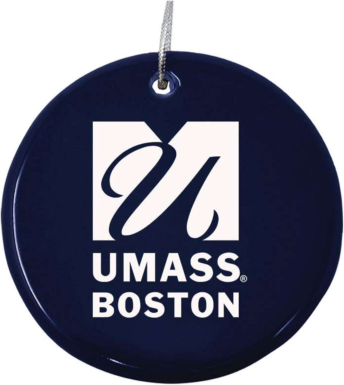 LXG, Inc. Ceramic Disk Holiday Ornament - UMass Boston