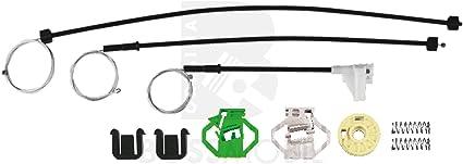 kit de reparaci/ón de elevalunas el/éctricos 6K1 Delantero izquierdo Bossmobil IBIZA 2+3 II+III