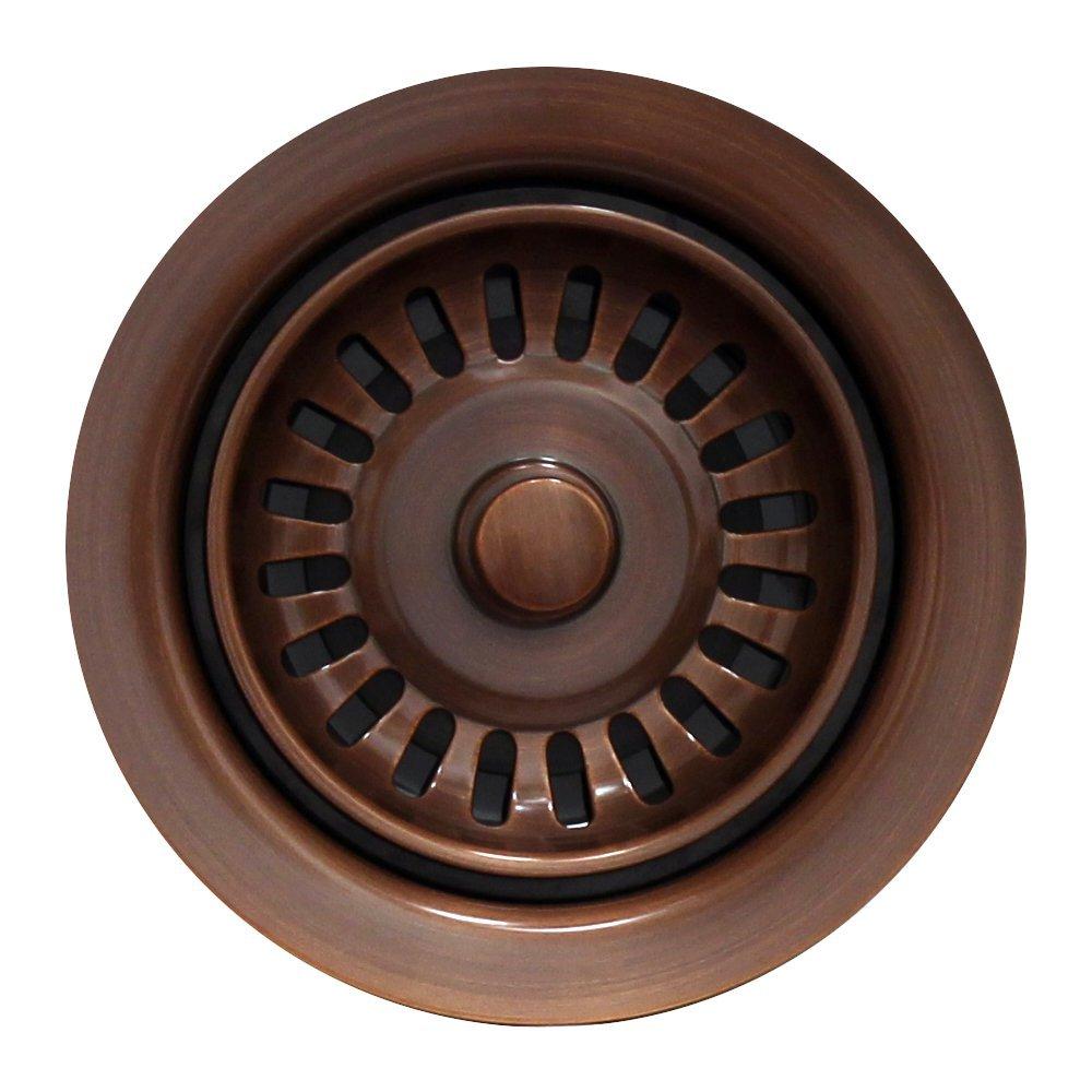 Whitehaus WH200-ACO 3-1/2-Inch Waste Disposer Trim, Antique Copper