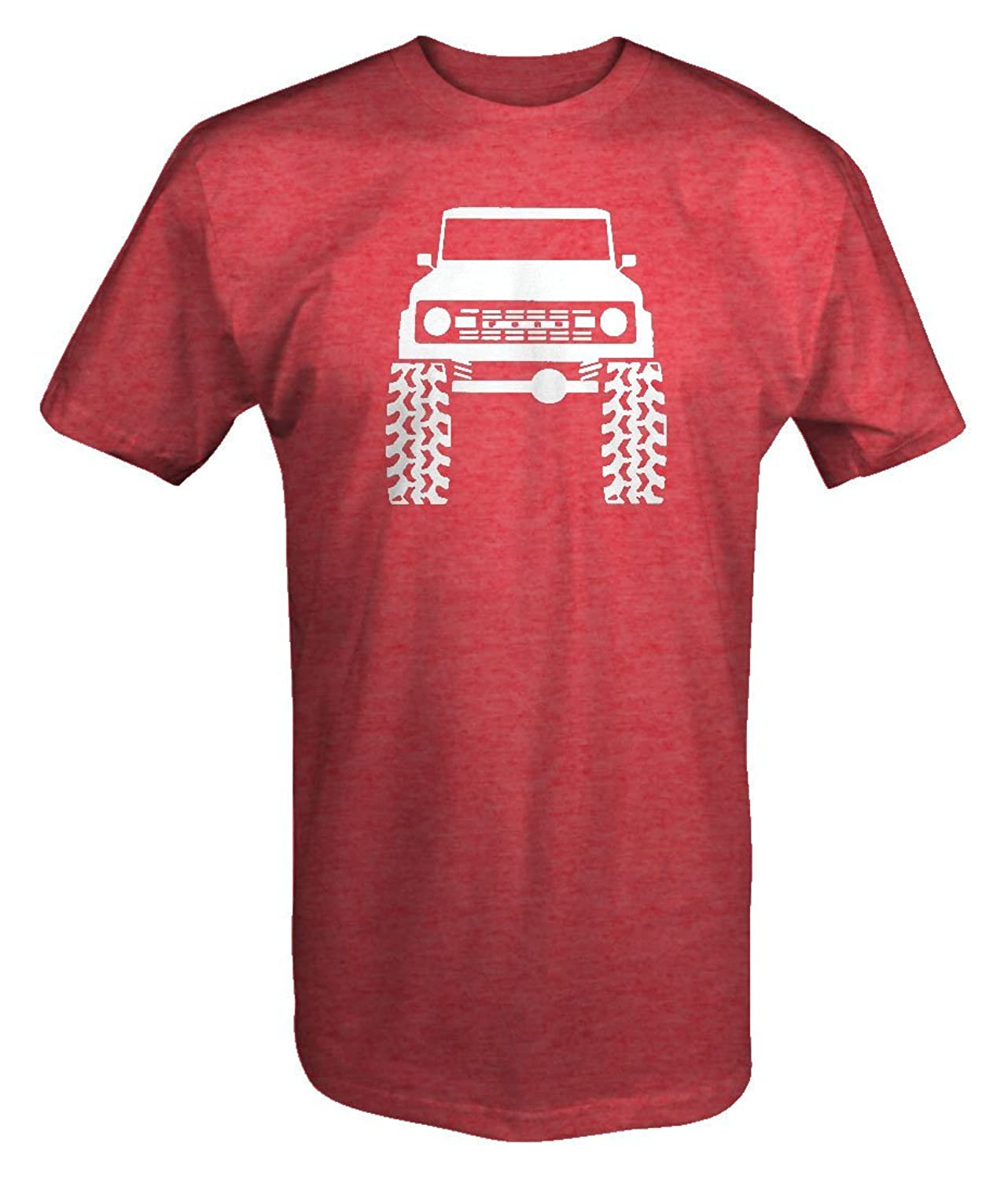 1960's 70's Ford Bronco Lifted Mud Tires Truck T Shirt
