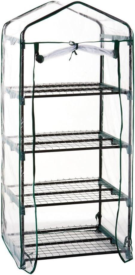 Catral 53010152 Invernadero, 4 baldas, Verde, 49x69x158 cm