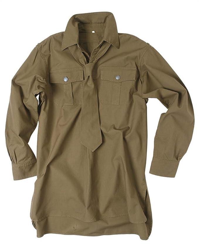 Mil-TEC sicotrópicas camisa M, corbata WH (Repro) Verde verde ...