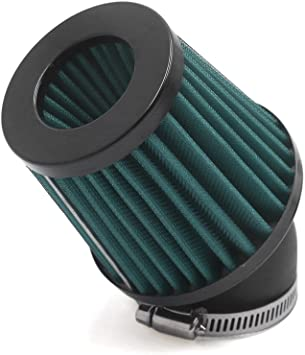 90 Grad Kurve Klemme-auf Motorrad Lufteinlass Filter DE de sourcingmap/® Allgemein 45mm Einlass Dmr