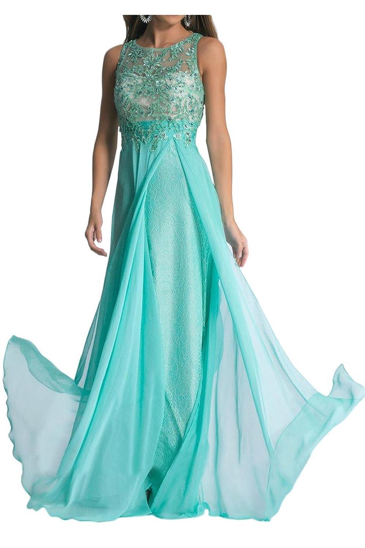Prom Style A-linie Chiffon Abendkleider Ballkleider ...
