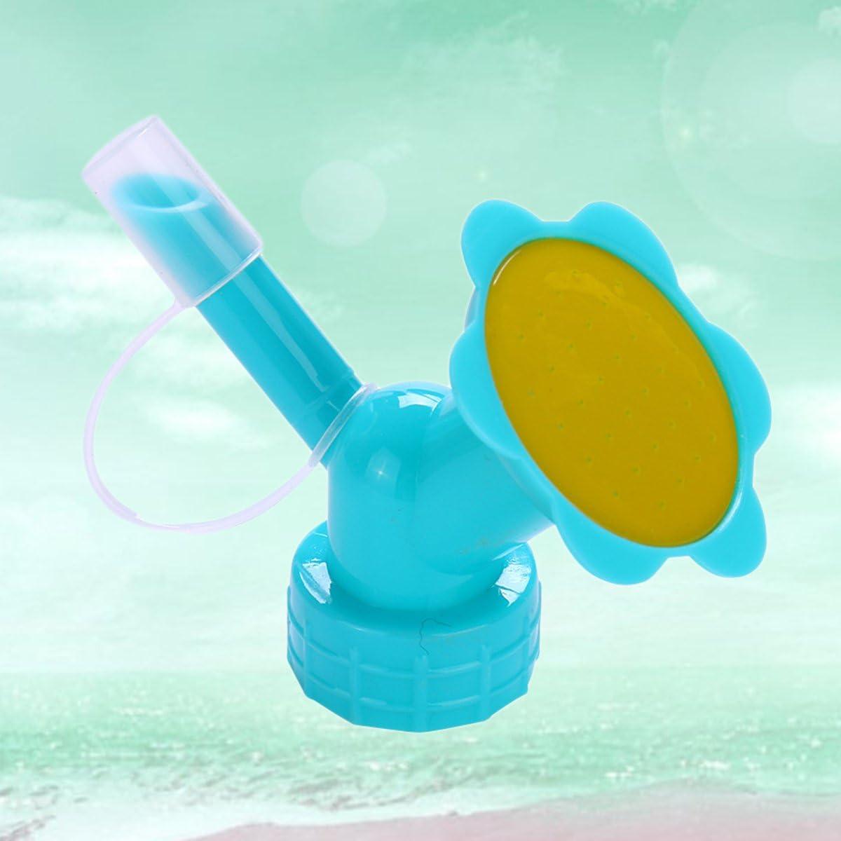 blau Yardwe Gie/ßkanne f/ür Langen Mund Doppelkopf Sprinklerd/üse Topfbew/ässerungsger/ät Gie/ßkanne Gartenger/äte