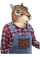 Latex Squirrel Adult Costume Mask